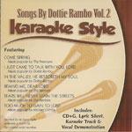 Karaoke Style: Dottie Rambo, Vol. 2
