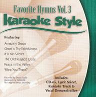 Karaoke Style: Favorite Hymns, Vol. 3