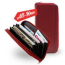 Designer Wallet Envelope System (Red)