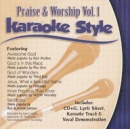 Karaoke Style: Praise and Worship, Vol. 1 image