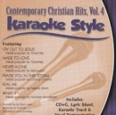 Karaoke Style: Contemporary Christian Hits, Vol. 4