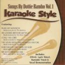 Karaoke Style: Dottie Rambo, Vol. 1