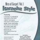 Karaoke Style: Men of Gospel, Vol. 1