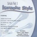 Karaoke Style: Selah, Vol. 1 image
