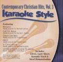 Karaoke Style: Contemporary Christian Hits, Vol. 3