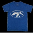 Duck Commander Logo Shirt: Blue | Youth X-Small