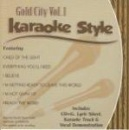 Karaoke Style: Gold City, Vol. 1