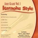 Karaoke Style: Amy Grant, Vol. 1 image