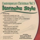 Karaoke Style: Contemporary Christmas, Vol. 5
