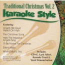Karaoke Style: Traditional Christmas, Vol. 2