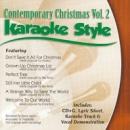 Karaoke Style: Contemporary Christmas, Vol. 2