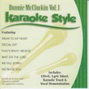 Karaoke Style: Donnie McClurkin, Vol. 1