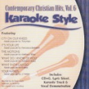 Karaoke Style: Contemporary Christian Hits, Vol. 6