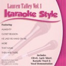 Karaoke Style: Lauren Talley, Vol. 1