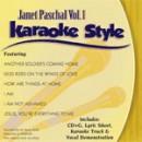 Karaoke Style: Janet Paschal, Vol. 1