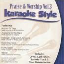 Karaoke Style: Praise and Worship, Vol. 3 image