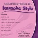 Karaoke Style: Songs of Whitney Houston, Vol. 2